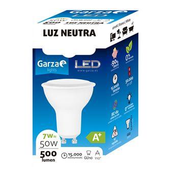 Bombilla LED GU10 7W 110º 500 lumenes 40K