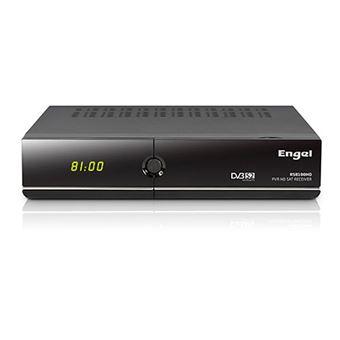 Receptor Satélite Engel Rs8100y Dvb-s2 en HD Funciones Iptv pvr Thimeshift USB Dongle Wifi Ethernet HDMI Audio Digital