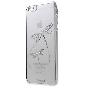 06994421644 Carcasa Dura con Cristales Swarovski X-Fitted para iPhone 6 Plus / 6S Plus  - Libélula - Plateado - Fundas y carcasas para teléfono móvil - Los mejores  ...