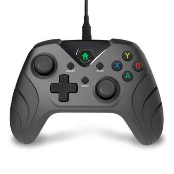 Controlador de 3m con cable negro para Xbox One
