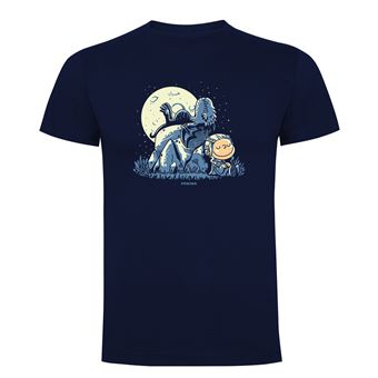 Camiseta manga corta Friking, Modelo 868 Juego de Tronos, Dragon peanuts, Talla XL, Navy