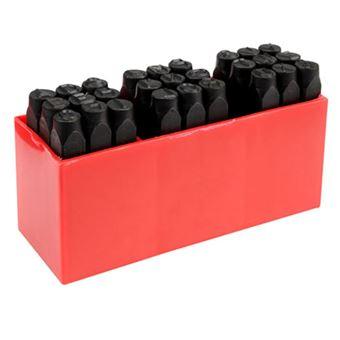 Herramientas de estampado de letra Yato, 27 piezas de 8 mm