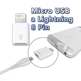 Adaptador Micro USB 8 Pines Para Iphone 5, Ipad 4, Ipad Mini