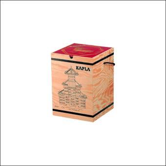 KAPLA 6801 KAPLA Juego de construcción, 280 piezas de madera