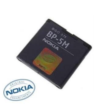 Bateria Original Nokia tipo BP-5M 5610 6500 Slide 8600 7390 6110 Nav
