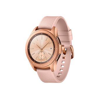 Reloj Smartwatch Samsung Fitness Sm-r810 Galaxy Watch 42mm oro Rosa Pantalla Samoled GPS Bluetooth