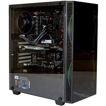 PC Gaming Sobremesa DeepGaming Haako (Ryzen 5-3400G, 16GB RAM, 500GB SSD NVMe, 2TB HDD, GTX1050) W10 Pro Preinstalado