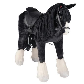 Happy People 58046 Caballo XXL con sonido - Shire Horse