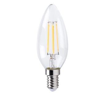 Llama de bombilla de filamento LED XQ-Lite E14 XQ1562 4 W equivalente a 30 W blanco cálido