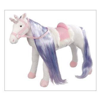 Happy People 58447 Unicornio de peluche con función de sonido