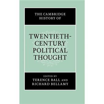 Serie ÚnicaThe Cambridge History of Twentieth-Century Political Thought HardCover