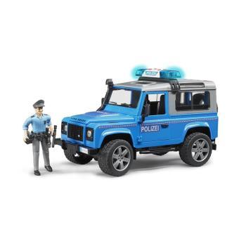 Bruder 2597 Land Rover Defender SW - Policía con sirena