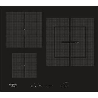 Placa Vitrocerámica inducción HOTPOINT KIS630XLDB 3 zonas