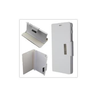 659aca562a5 Funda BQ Aquaris E5 4G / FNAC PHABLET 2 5 4G Libro Agenda Soporte Color:  Blanco - Fundas y carcasas para teléfono móvil - Los mejores precios | Fnac