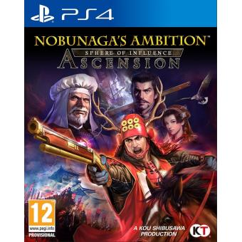 Nobunaga's Ambition: Sphere of Influence - Ascension (playstation 4) [importación Inglesa]