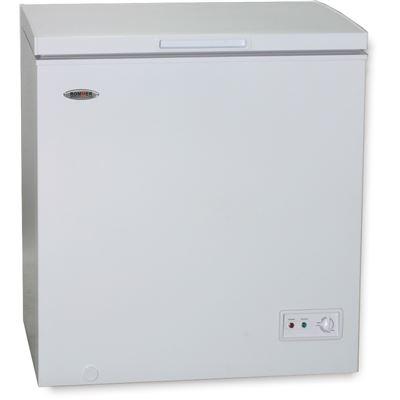 Arcón congelador Rommer, Blanco, Capacidad 140 litros