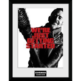 Fotografía enmarcada The Walking Dead Temporada 7 30x40 cm