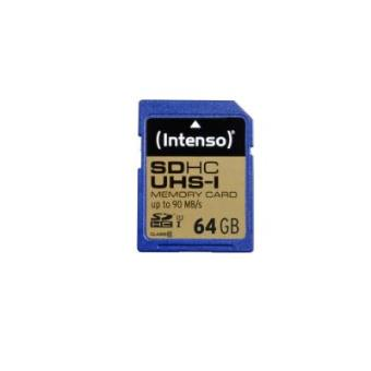 Intenso 64GB SDHC - Memoria flash