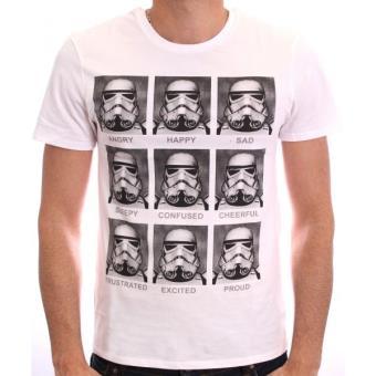 Camiseta Star Wars,, Talla Modelo Trooper Emotions, Talla XXL
