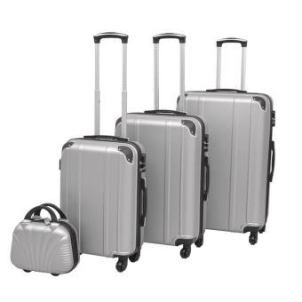 7e3bded0a Juego de maletas rígidas cuatro unidades plata, Maleta / Trolley, Los  mejores precios | Fnac