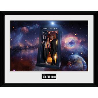 Fotografía enmarcada Doctor Who Temporada 10 Episodio 1 30x40 cm