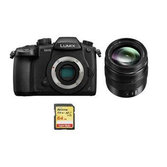 Panasonic DMC-GH5 Negro + 12-35mm F2.8 II ASPH O.I.S Negro (HHSA12035) + SD 64Go