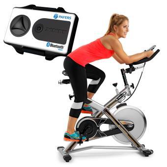 Bicicleta indoor BH Fitness con Xkit MKT JET BIKE PRO X WH9162RF.Volante inercia 22 Kg.<br>