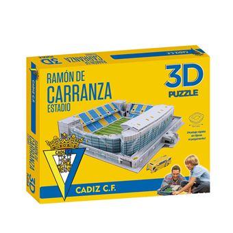 Puzzle 3D Estadio ramón de carranza