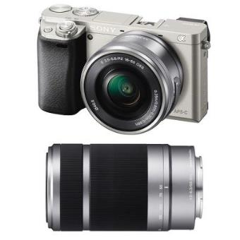 Cámara de fotos digital Sony α6000 + 16-50mm + 55-210mm