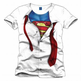 Camiseta Superman, Modelo Clark Kent, Talla L