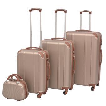 318fbd0ed Juego de maletas rígidas 4 unidades champán, Maleta / Trolley, Los mejores  precios | Fnac