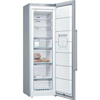 Congelador vertical Bosch GSN36BI3P No Frost A++ acero inoxidable
