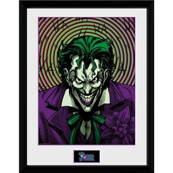 Fotografía Enmarcada DC Comics Joker Insane