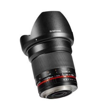 Lente para cámara Samyang 16mm f/2.0 MFT