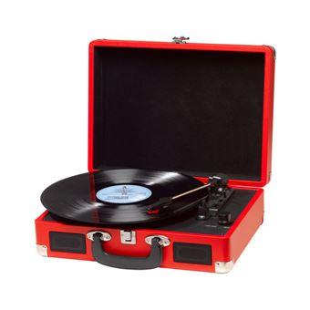 Tocadiscos Denver VPL-120 Red Altavoces Integrados Software Grabacion para PC
