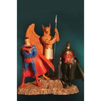 Kingdom Come Superman/Hawkman/Red Robin Diorama Porcelana