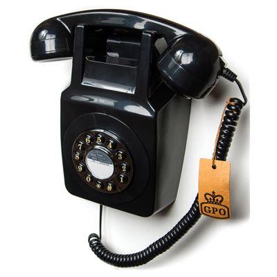746 Wallphone GPO Negro