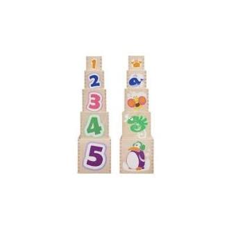 Cubo de Piezas de Madera. 23 5165
