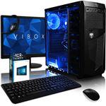 """Ordenador Gaming Vibox  A6-9500 Radeon R5  8GB DDR4 RAM 1TB HDD 22"""" HD Windows 10 Pro"""