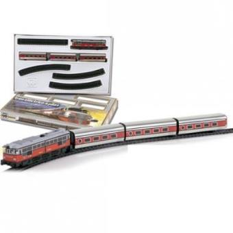 Tren Articulado Metálico C/Luz