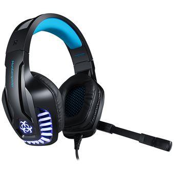 Auriculares Gaming con Cable y Micrófono para PS4 o PC, Sonido Estéreo Cancelación de Ruido