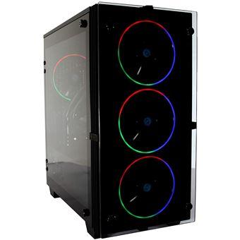 PC Gaming Sobremesa DeepGaming Grakkus (Intel Core i5-9400F, 16GB RAM, 500GB SSD NVMe, 2TB HDD, GTX1650) Sin Sistema