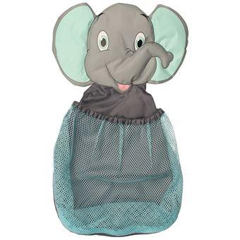 Bolsa red para guardar juguetes Bo Jungle B-Bath elefante Azul B900310