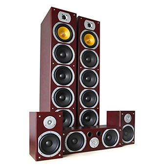 Beng V9B Sistema altavoces home cinema 5 canales, 1240W max