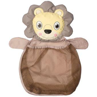 Bolsa red para guardar juguetes Bo Jungle B-Bath león Marrón B900300