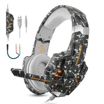 Auriculares Gaming Estéreo para PS4, PC, Xbox One, 3D Sonido Envolvente