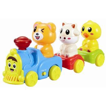 Tren musical infantil con aminalitos