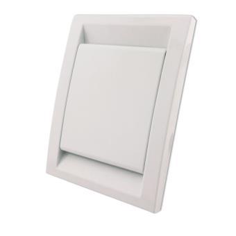 Toma Aspiración Centralizada Serie PREMIER 91x123 mm Blanco