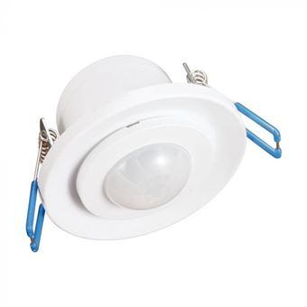 Detector de Movimiento Garza Power Infrarrojos Empotrable de Techo, Ángulo de Detección 360º, color Blanco