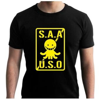 Camiseta Assassination Classroom Saauso, Talla XL